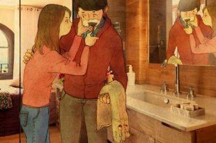 صورة لوحات معبرة عن الحب , اجمل لوحات الحب