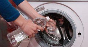 صورة طريقة تنظيف الغسالة الاتوماتيك , دورة الخل لتنظيف الغسالة