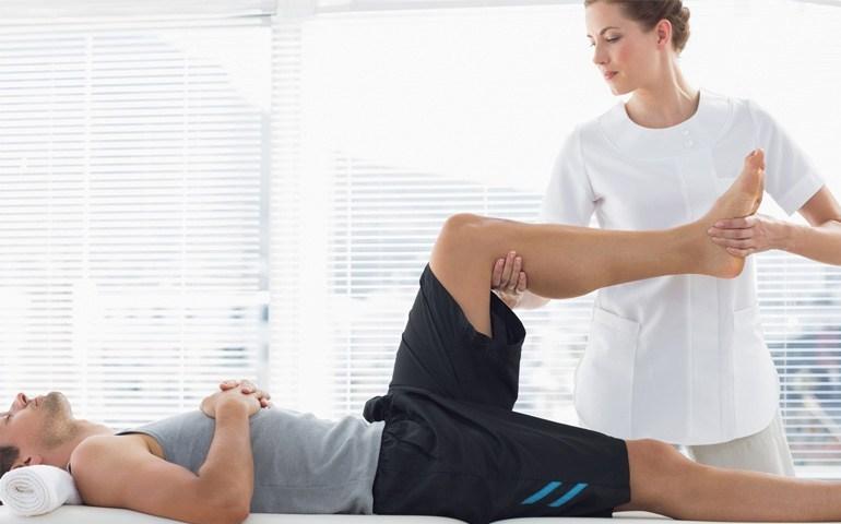 صورة علاج طبيعي في المنزل , علاج طبي لا يتضمن اى عمليات جراحية