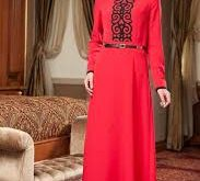 صورة لباس مغربي للمحجبات , اجمل اللبس المغربي