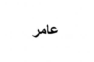 صورة اسم عامر في المنام , الامل في التعمير و العمر الطويل