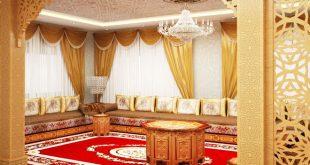 صورة ديكور مغربي , تصميمات مغربية للمنازل