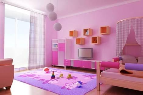 صورة دهانات غرف اطفال , الوان حوائط لاوض الصغار