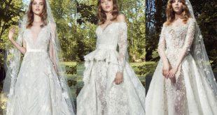 صور فساتين زفاف زهير مراد 2019 , احدث صيحات ثوب العرس للمصمم زهير مراد