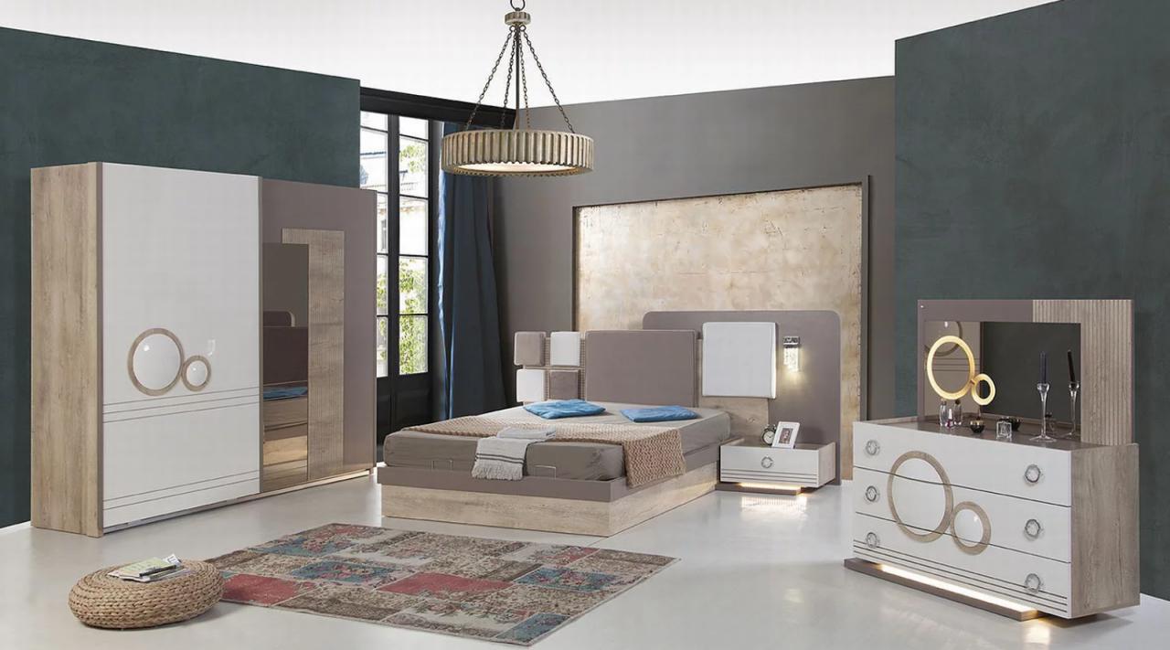 صورة غرف نوم مودرن 2019 كامله , احدث تسايلات اوض النوم