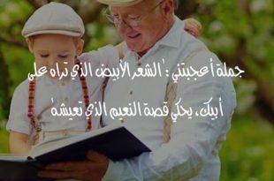 صورة بوستات عن الاب، أبي العزيز أحبك