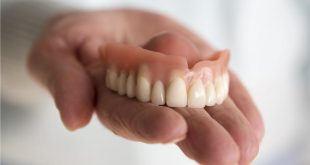 صورة طقم اسنان,وتأثير طقم الاسنان