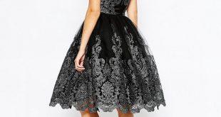 صورة فساتين قصيره دانتيل, ويوجد كثير من التصميمات لفستان الدانتيلا القصير