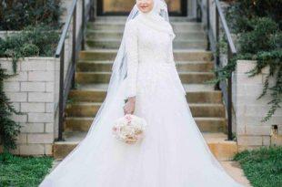 صورة فساتين زفاف محجبات, أحدث موديلات الفساتين الزفاف للمحجبات