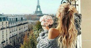 صورة مكان رومانسي شاعري كل البنات يحبونه, رمزيات بنات عند برج ايفل