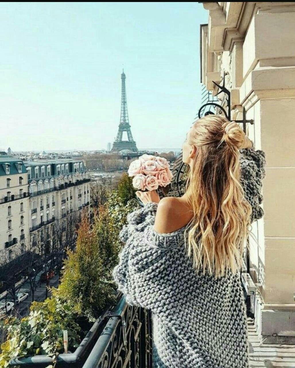مكان رومانسي شاعري كل البنات يحبونه رمزيات بنات عند برج ايفل